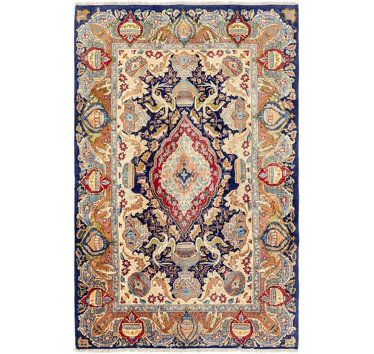6' 2 x 9' 9 Kashmar Persian Rug