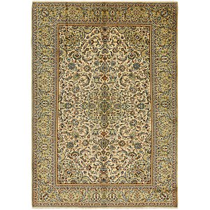 8' 9 x 12' 4 Isfahan Persian Rug