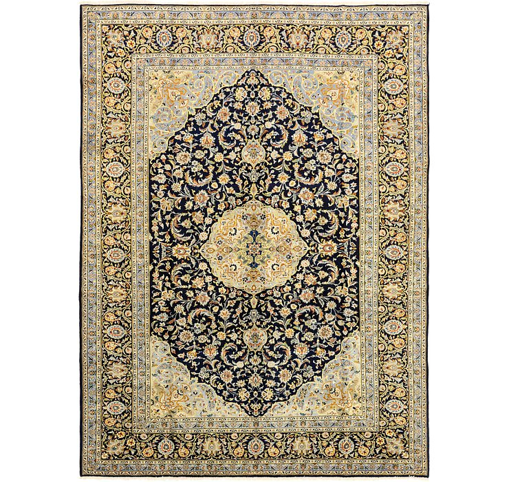 9' 5 x 12' 10 Kashan Persian Rug