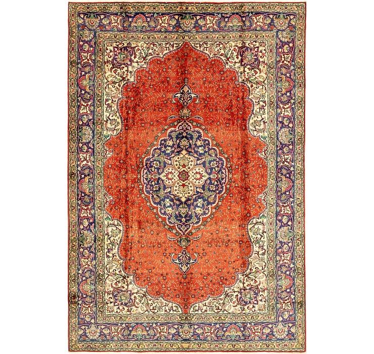 7' 10 x 11' 9 Tabriz Persian Rug