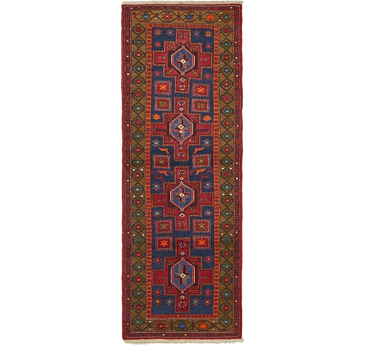3' 5 x 9' 6 Hamedan Persian Runner ...