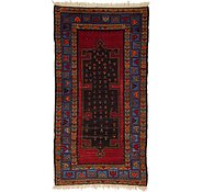 Link to 4' x 7' 9 Hamedan Persian Rug