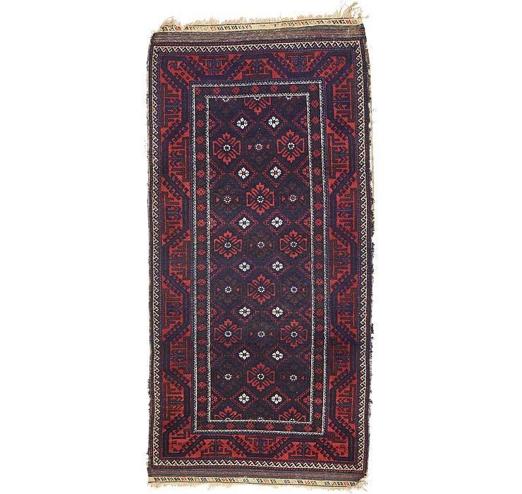 102cm x 208cm Zanjan Persian Rug