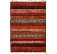 Link to 2' 9 x 3' 11 Shiraz-Gabbeh Persian Rug