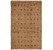 Link to 4' 5 x 6' 9 Shiraz-Gabbeh Persian Rug