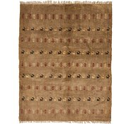 Link to 5' x 6' 4 Shiraz-Gabbeh Persian Rug