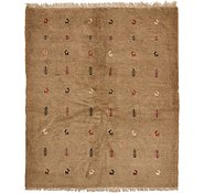 Link to 5' 1 x 6' Shiraz-Gabbeh Persian Rug