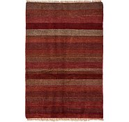 Link to 4' 4 x 6' 7 Shiraz-Gabbeh Persian Rug