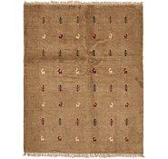 Link to 4' 10 x 6' 2 Shiraz-Gabbeh Persian Rug
