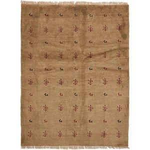 5' x 6' 7 Shiraz-Gabbeh Persian Rug