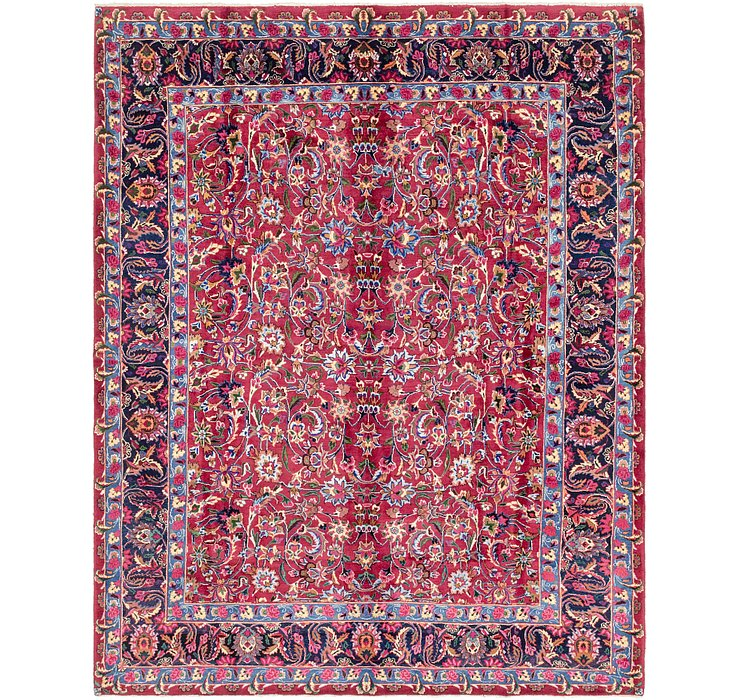 8' 4 x 10' 7 Mashad Persian Rug