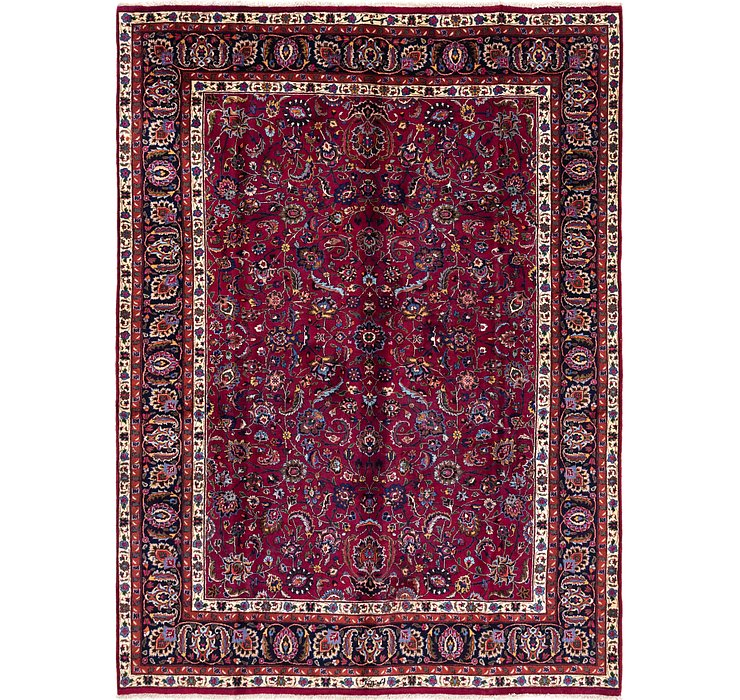 8' 4 x 11' Mashad Persian Rug
