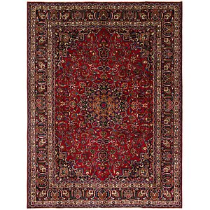 Unique Loom 8' x 10' 10 Mashad Persian Rug