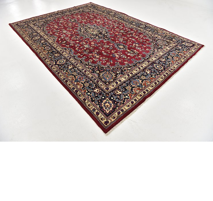 HandKnotted 8' x 11' 2 Mashad Persian Rug