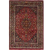Link to 7' 7 x 11' Mashad Persian Rug