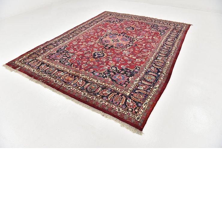 HandKnotted 8' x 10' 8 Mashad Persian Rug