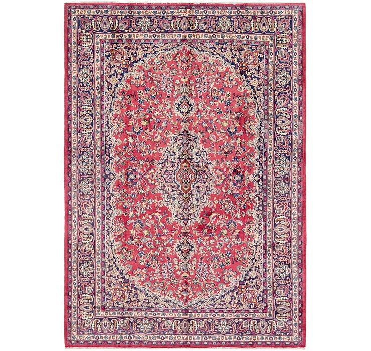 8' x 11' 7 Mashad Persian Rug