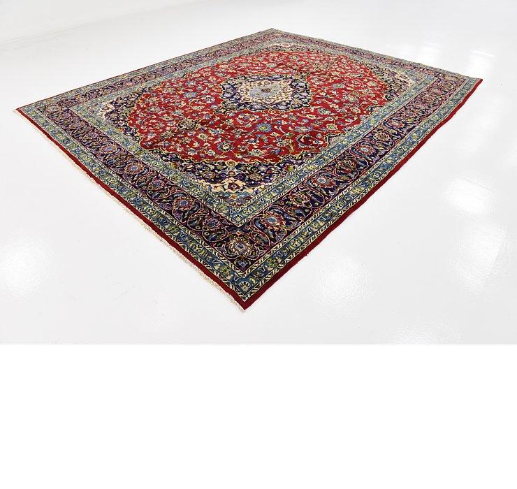 HandKnotted 9' 8 x 11' 10 Mashad Persian Rug