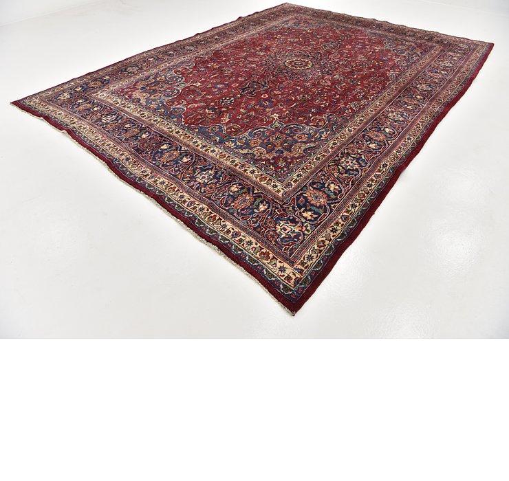 HandKnotted 9' 6 x 12' 9 Mashad Persian Rug