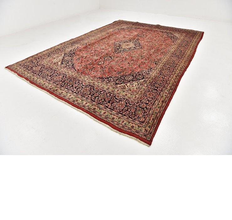 HandKnotted 9' 7 x 13' 3 Mashad Persian Rug