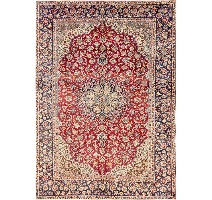9' 6 x 13' 4 Isfahan Persian Rug