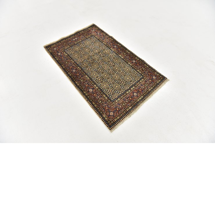 HandKnotted 2' 7 x 4' Mood Persian Rug