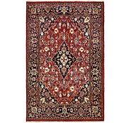 Link to 4' 2 x 6' 7 Mashad Persian Rug