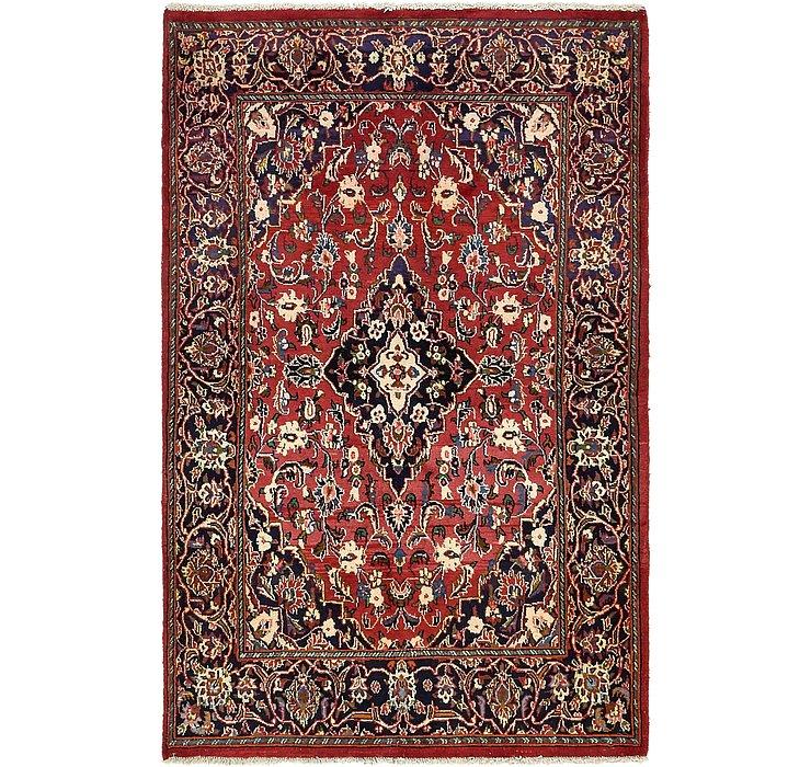 4' 2 x 6' 7 Mashad Persian Rug