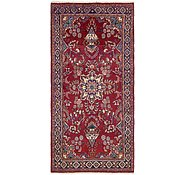 Link to 3' 8 x 7' 9 Mashad Persian Runner Rug