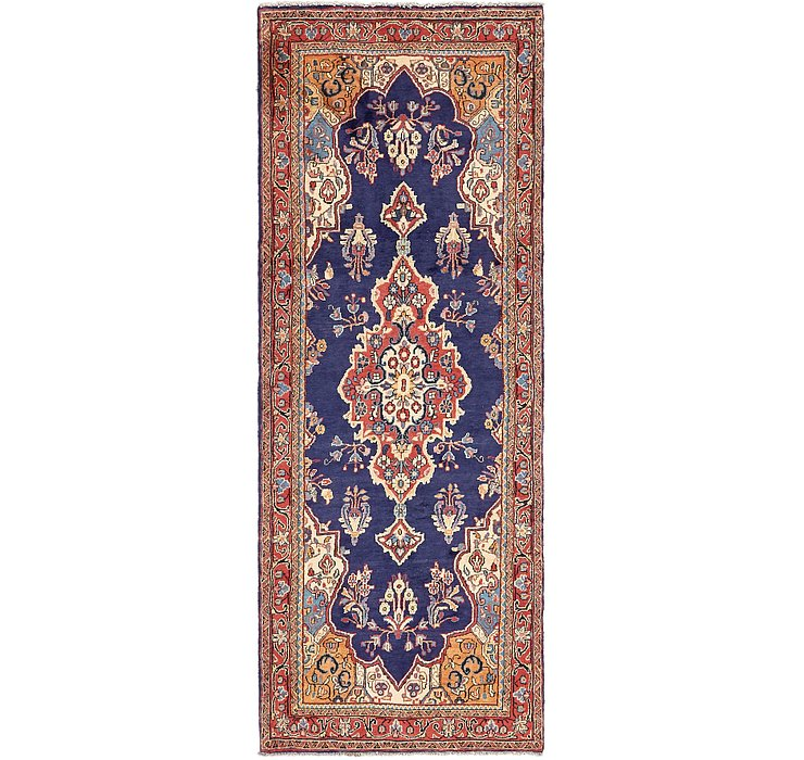 HandKnotted 3' 7 x 9' 9 Mahal Persian Runner Rug
