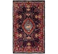 Link to 4' x 6' 8 Mashad Persian Rug