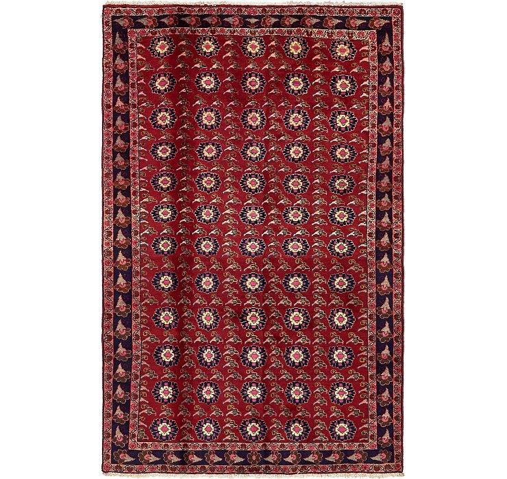 4' 10 x 7' 7 Mashad Persian Rug