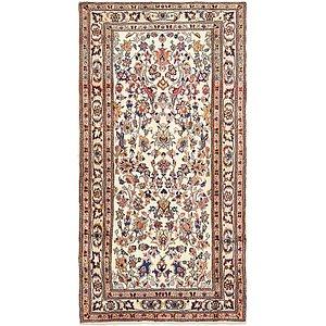 4' 6 x 8' 10 Mashad Persian Rug