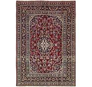 Link to 4' 8 x 7' Mashad Persian Rug