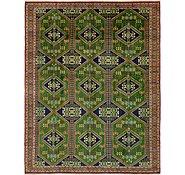 Link to 9' 10 x 12' 8 Torkaman Persian Rug