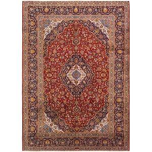 10' 3 x 14' 5 Kashan Persian Rug