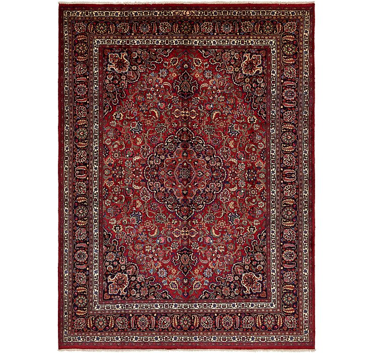 9' 7 x 13' 3 Mashad Persian Rug