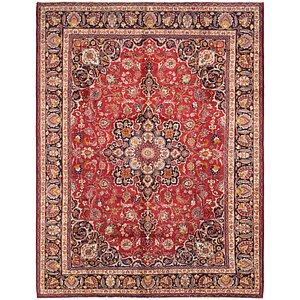 HandKnotted 9' 7 x 12' 8 Mashad Persian Rug