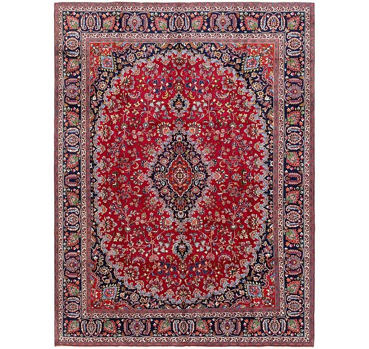 285cm x 385cm Mashad Persian Rug