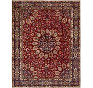 Link to 9' 3 x 12' Mashad Persian Rug