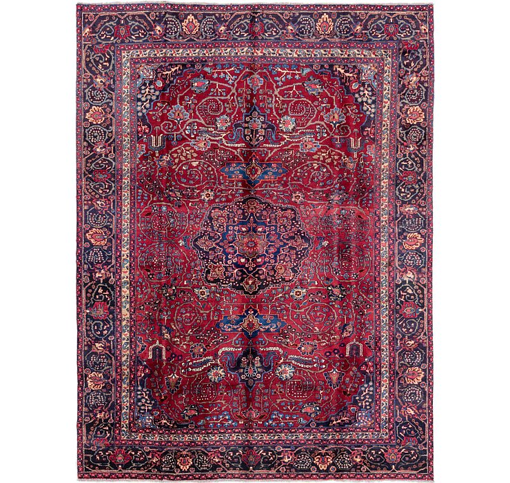 7' 9 x 10' 4 Mashad Persian Rug