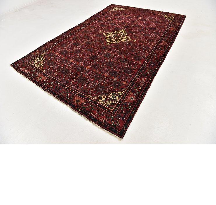6' 4 x 10' Hossainabad Persian Rug