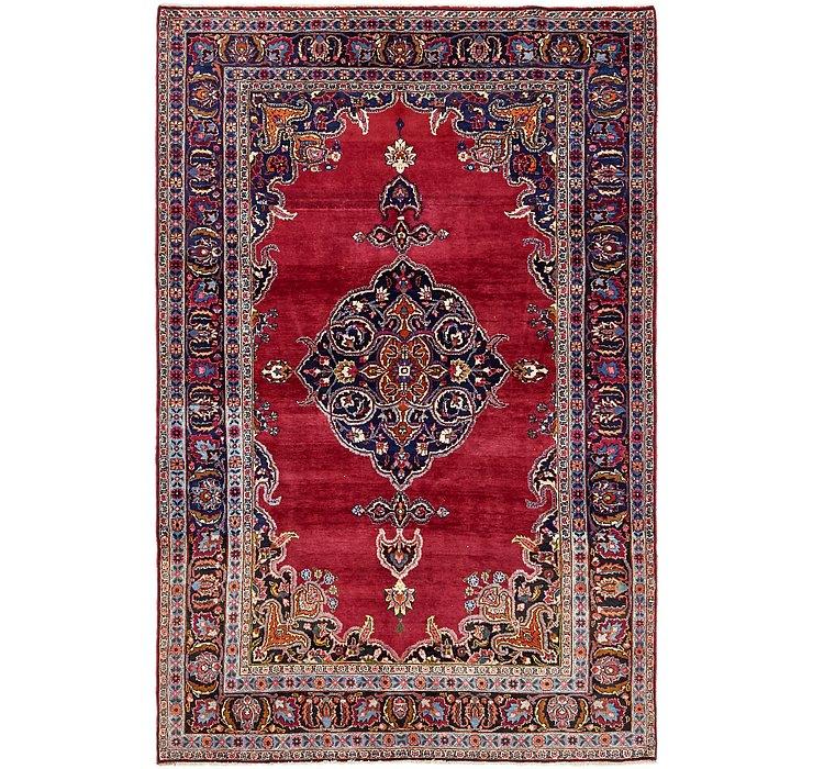 6' 4 x 9' 7 Mashad Persian Rug