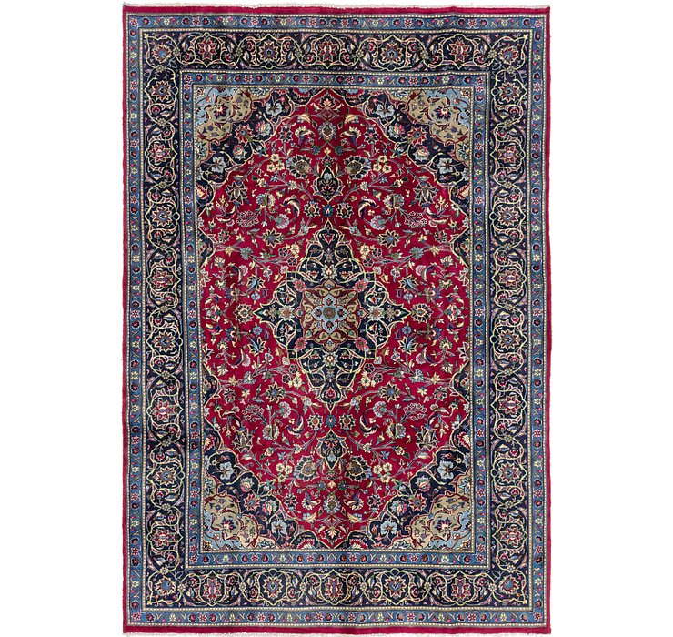 6' 8 x 10' Kashmar Persian Rug