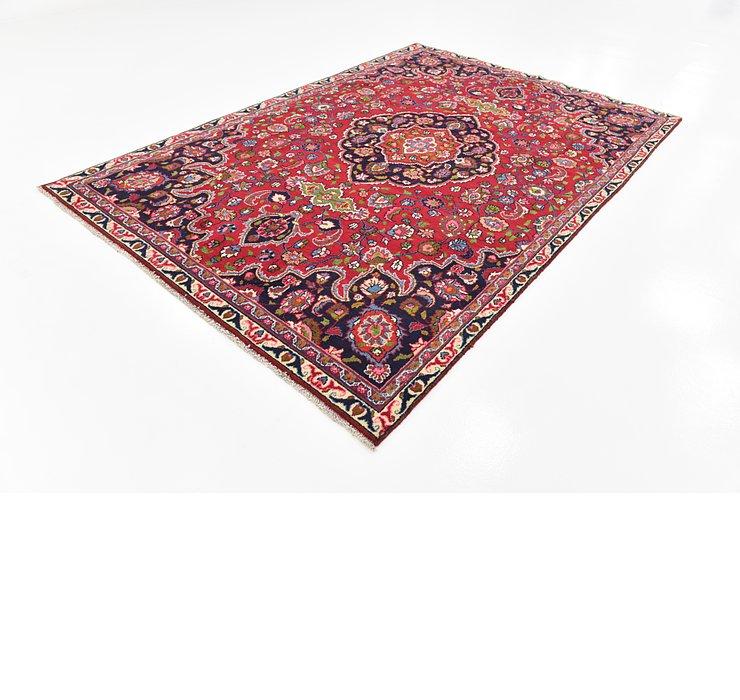 7' x 10' 4 Mashad Persian Rug