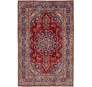 Link to 6' 4 x 9' 9 Mashad Persian Rug