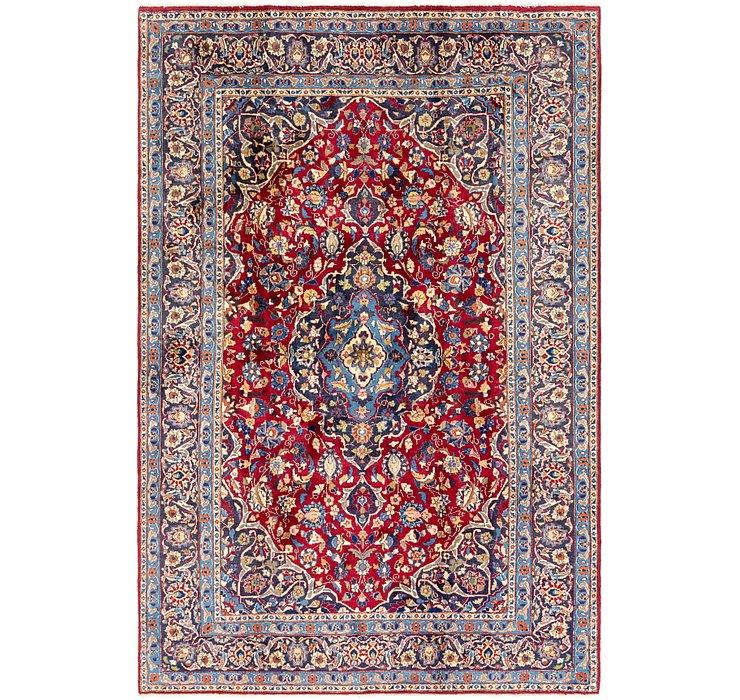 6' 6 x 9' 7 Mashad Persian Rug