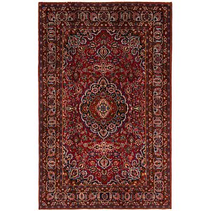 HandKnotted 6' 4 x 9' 10 Mashad Persian Rug