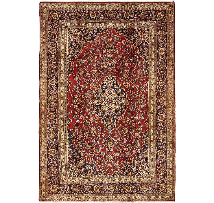 6' 4 x 9' 6 Mashad Persian Rug
