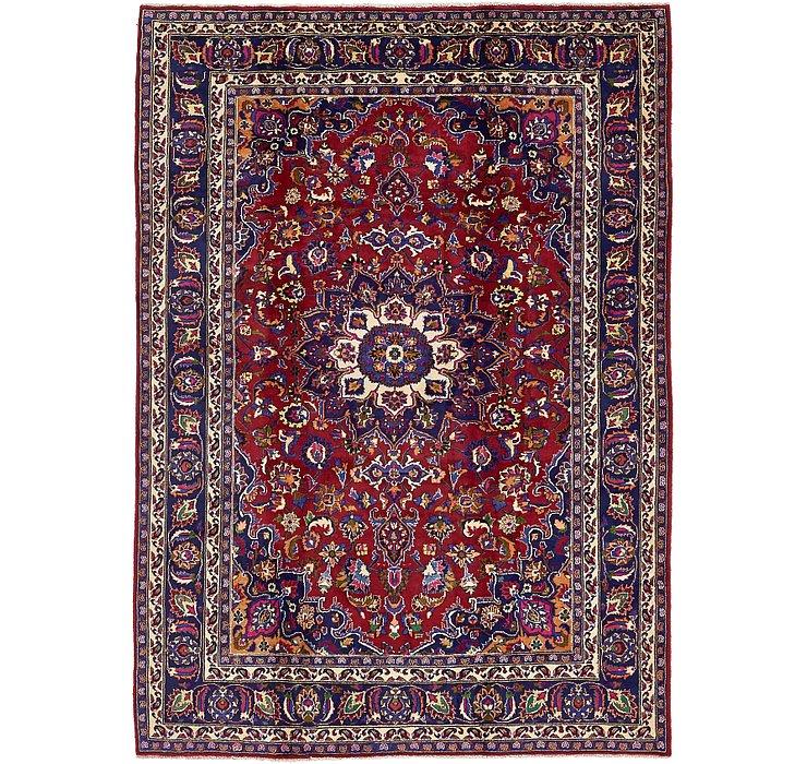 6' 7 x 9' 1 Mashad Persian Rug